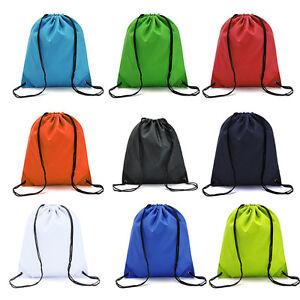 Sport Swim Dance Travel Cycling Waterproof Premium Quality Drawstring Backpack