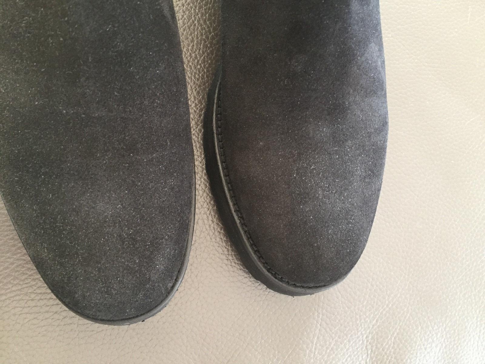 Damen Chelsea Stiefel, Schuhe, Marke Marke Marke Sergio Rocco, schwarz, Velourleder, Gr. 38,5 467594