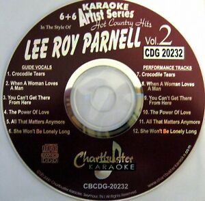 Details about Chartbuster Karaoke CD+G Country Artist Series - CB20232 Vol  2 (Leroy Parnell)