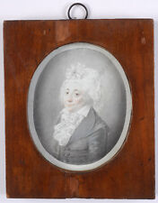 "Christoph Haller v. Hallerstein ""Portrait of elderly lady"",1795/1800, miniature"