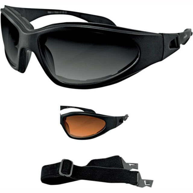 94dc25417b Motorcycle Bobster GXR Sunglasses Goggles - Smoke UK SELLER for sale ...