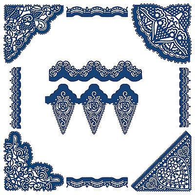 Angoli Bordi Eleganza Tattered Lace Metallo Muore Stephanie Weightman Card Craft-mostra Il Titolo Originale I Cataloghi Saranno Inviati Su Richiesta