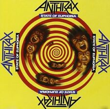 Anthrax State Of Euphoria CD NEW SEALED Metal
