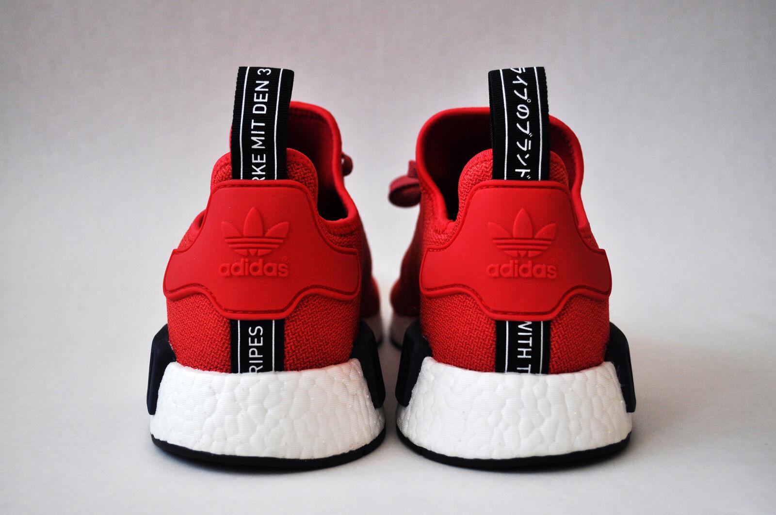 Adidas NMD R1 R1 R1 rosso nero blu US 11 donna mesh primeknit bounce triple 30146f