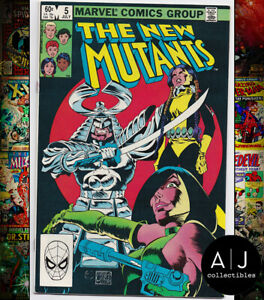 New Mutants #5 NM- 9.2 (Marvel) 1983