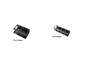 Dosenhalter für 2 Dosen Breite 165mm oder 4 Dosen Breite 323 mm zur Auswahl NEU
