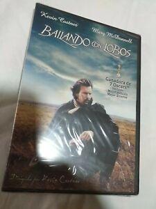 Dvd-bailando-con-lobos-NUEVO-PRECINTADO-KEVIN-costner-7-oscars