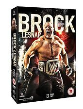 WWE Brock Lesnar - Eat. Sleep. Conquer. Repeat. [3 DVDs] *NEU* DVD Beast