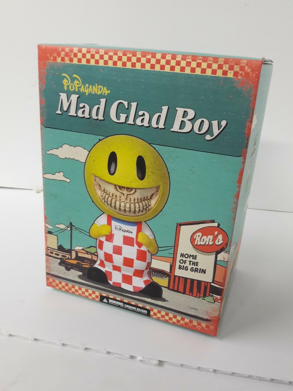 Ron English Popagana galen glad pojke sällsynt LE Mindfily Popliv nytt i lådan
