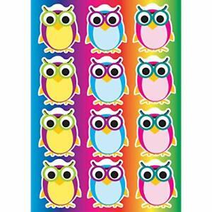 ASHLEY PRODUCTIONS Color Owls Die-Cut Magnets (ASH10142)