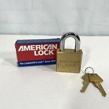 American Lock 2 Padlock A5570 Series Solid Brass