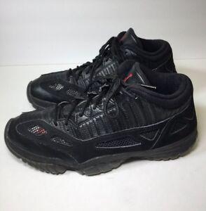 9e6d22b6879b Air Jordan XI 11 Low IE Retro Black Red Referee 306008-003 Mens Size ...