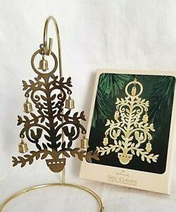 Hallmark-Keepsake-Tree-Chimes-Christmas-Ornament-Solid-Brass-in-Box