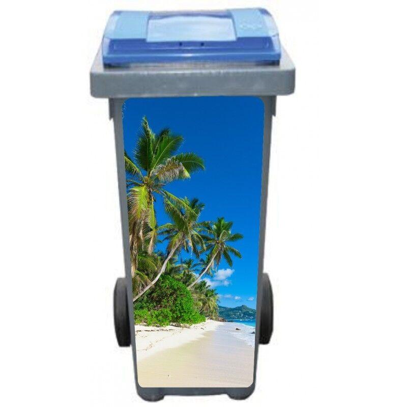 Adesivi cassonetto decocrazione Palme spiaggia 3215 Art déco adesivi