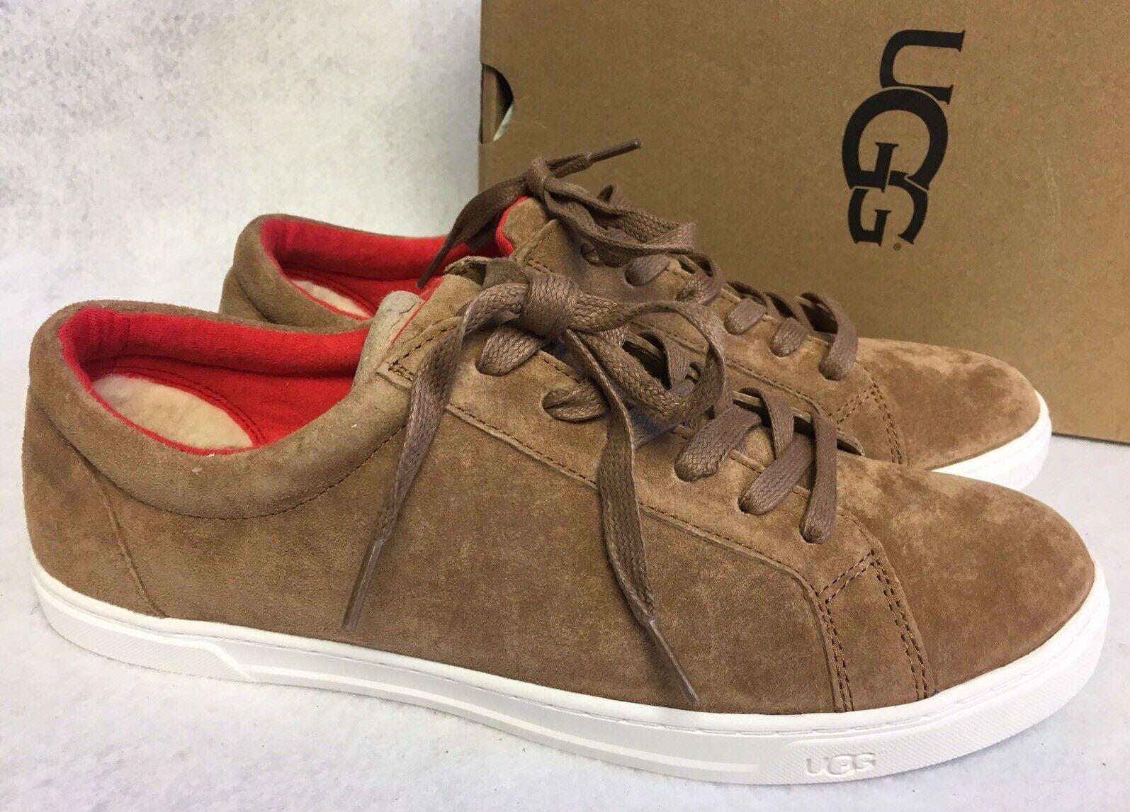 Ugg Australia Karine Chaussures à lacets en daim à la mode pour femmes - Baskets 1015044