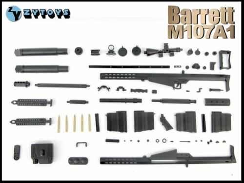 "ZY-8028A 1//6 Scale M107A1 Barrett Sniper Rifle Set Fits for 12/"" Action Figure"