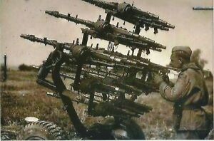 WW-II-German-Photo-Anti-Aircraft-Machine-Guns