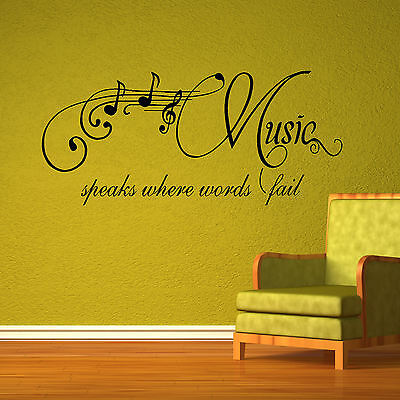 LARGE WALL STICKER QUOTE WELCOME  ART DECAL TRANSFER CHOICE 4 SIZES CUT VINYL