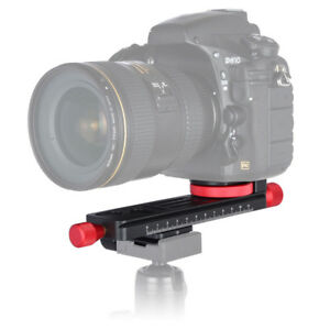 W-160-38mm-Macro-Focusing-Rail-1-4-034-3-8-034-Mount-For-DSLR-Camera-Arca-Swiss-Tripod