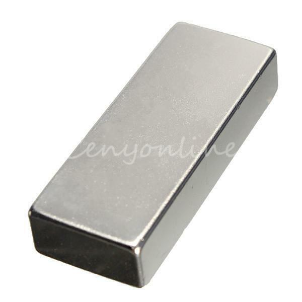 Big Super Strong Block Strip N35 Magnets Rare Earth Neodymium 50 x 20 x 10mm