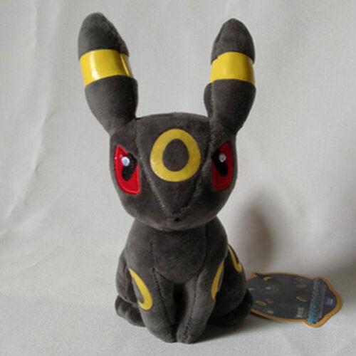 New Pokemon Center Evolution of Eevee Umbreon Espeon Sylveon Plush Toys Gift UK