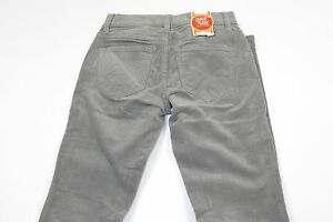 NWT-OLD-NAVY-Gray-Rockstar-Super-Skinny-Lower-Rise-Corduroy-Pants-Size-0