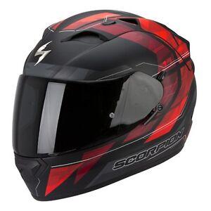 casque-casco-helmet-SCORPION-EXO-1200-AIR-HORNET-MAT-taille-L-59-60