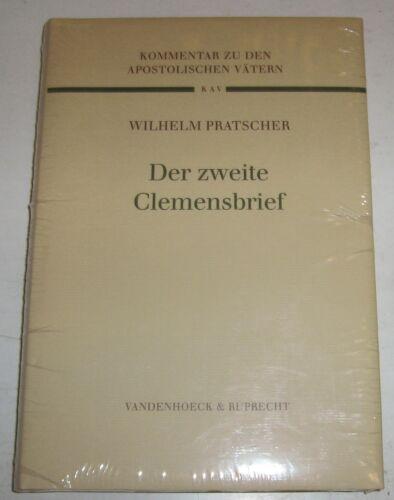 1 von 1 - Wilhelm Pratscher - Der zweite Clemensbrief Kommentare z.d. apostolischen Vätern