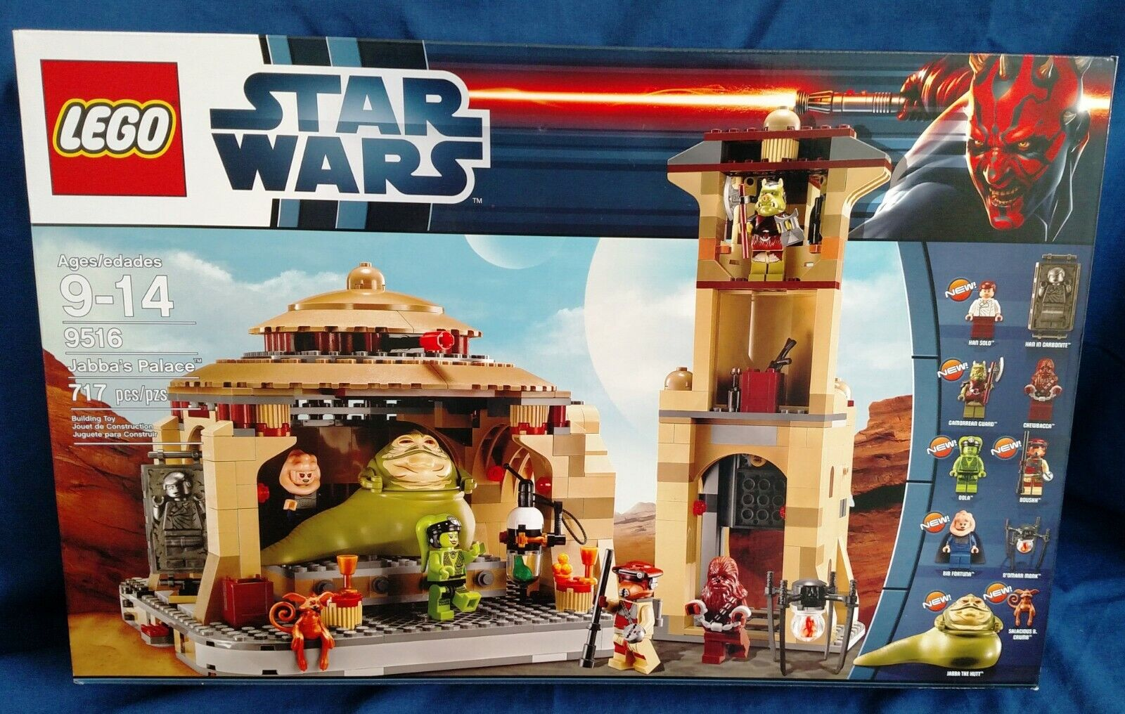 New Lego Star Wars Jabba's Palace, factory sealed box