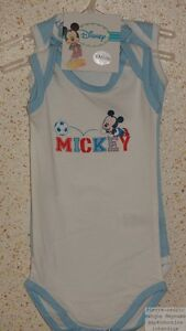 Nuevo Precio Clothing, Shoes & Accessories Baby & Toddler Clothing Lote De 2 Bodys Chica Disney Forma Camiseta Tirantes Pierre-cedric