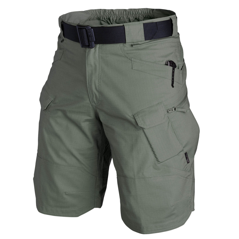 Helikon TEX UTK Urban Tactical Tactical Urban Cargo Shorts Pantaloni Outdoor breve Oliva Drab Taglia XL 5ecf34