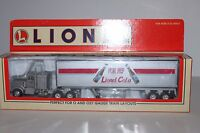 O O27 Scale Lionel 6-29271 Lionel Cola 48' Die Cast Tractor & Trailer