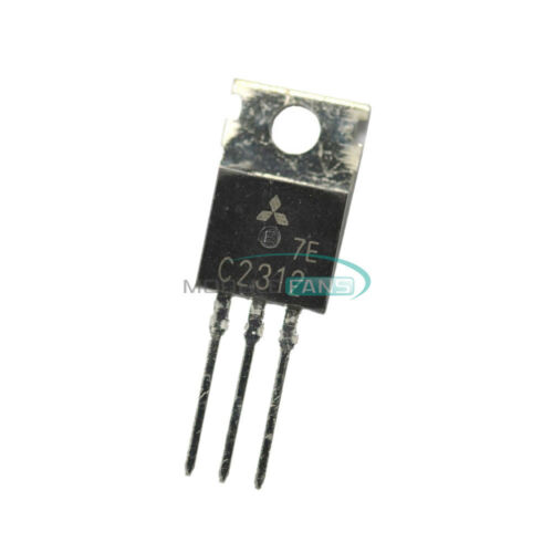 10PCS HF//VHF Transistor MITSUBISHI TO-220 NPN 2SC2312 C2312 IC