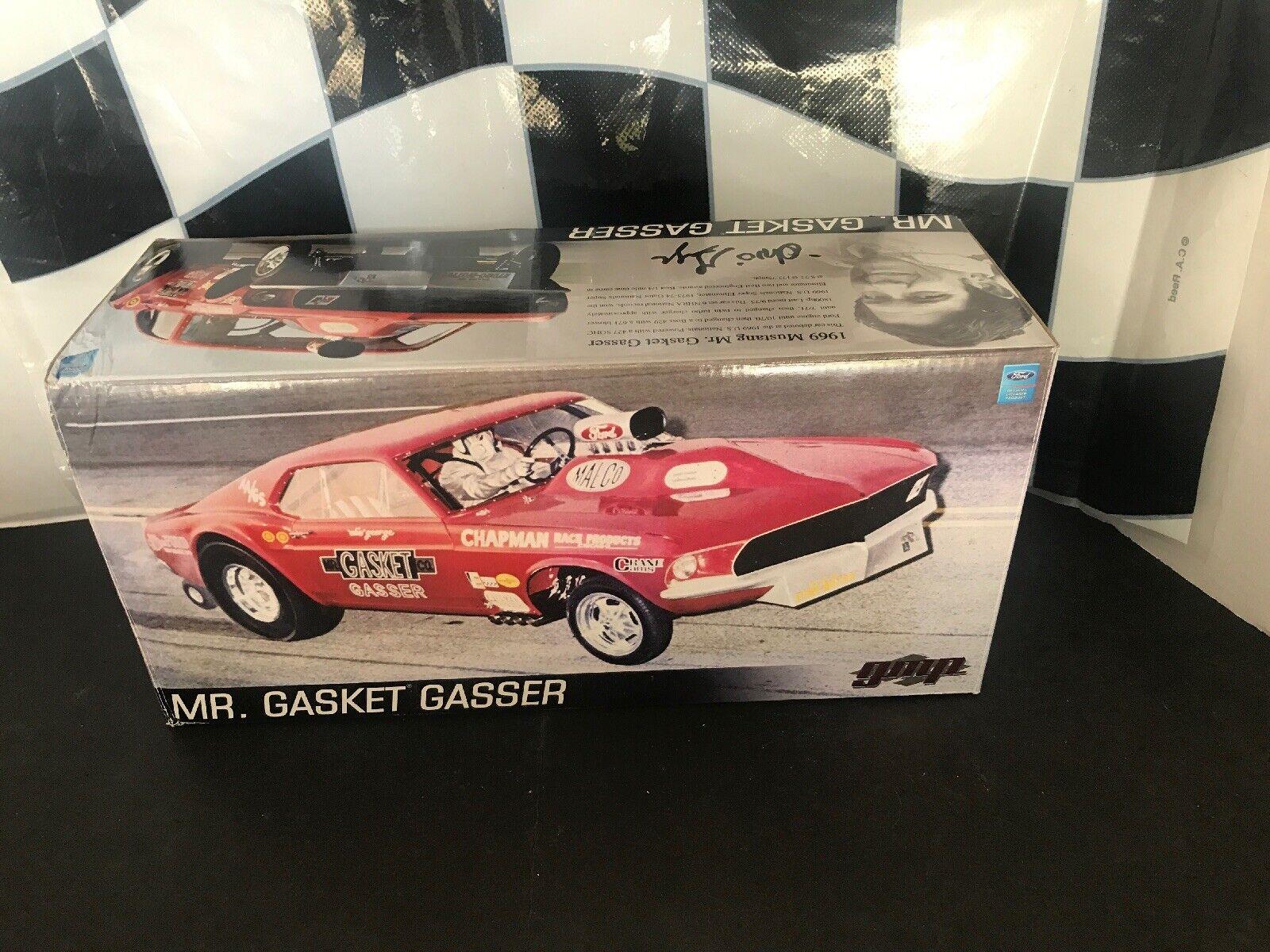 GMP 1 18 1969 Mustang Mr. Gasket Gasser