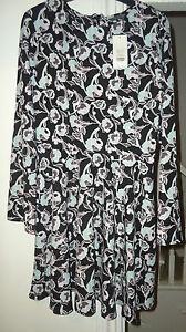 Miss-Selfridge-Women-Size-12-Multi-Coloured-Dress