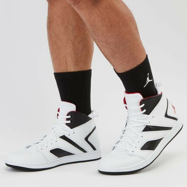 aba22e3538a Nike Air Jordan Flight Legend White Red Black men s SHOES SHOES SHOES  AA2526-112 SIZE