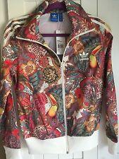 ADIDAS Originals FUGIPRABALI  Firebird Floral Tracksuit Jacket Top