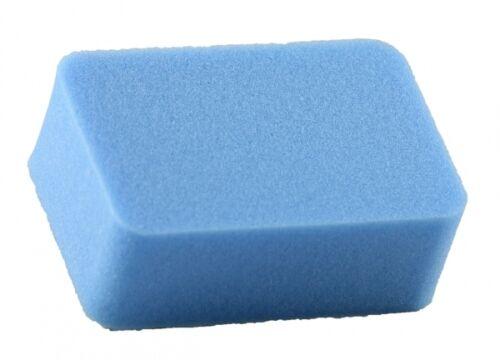 Auto-Glanzwelt Lackreinigungsschwamm hart blau 11cm