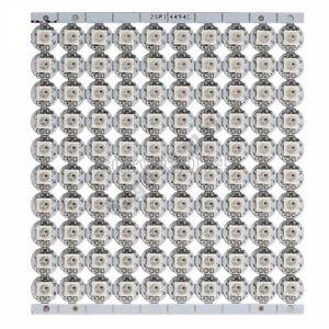 10PCS 5V Mini PCB board WS2812B WS2811 IC SMD 5050 RGB LED light Sample 10mmx3mm