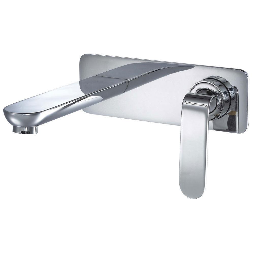 Sanlingo caché flush-mounting Bain Lavabo Chrome Robinet d'eau série KATA