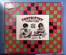 Vintage Tootsietoy Bedroom Furniture Set In Original Box