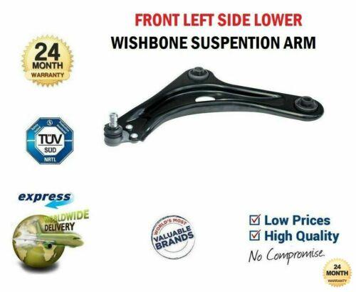Essieu avant gauche Wishbone Track Control Arm pour CITROEN DS3 1.6HDi 110 2009-2015