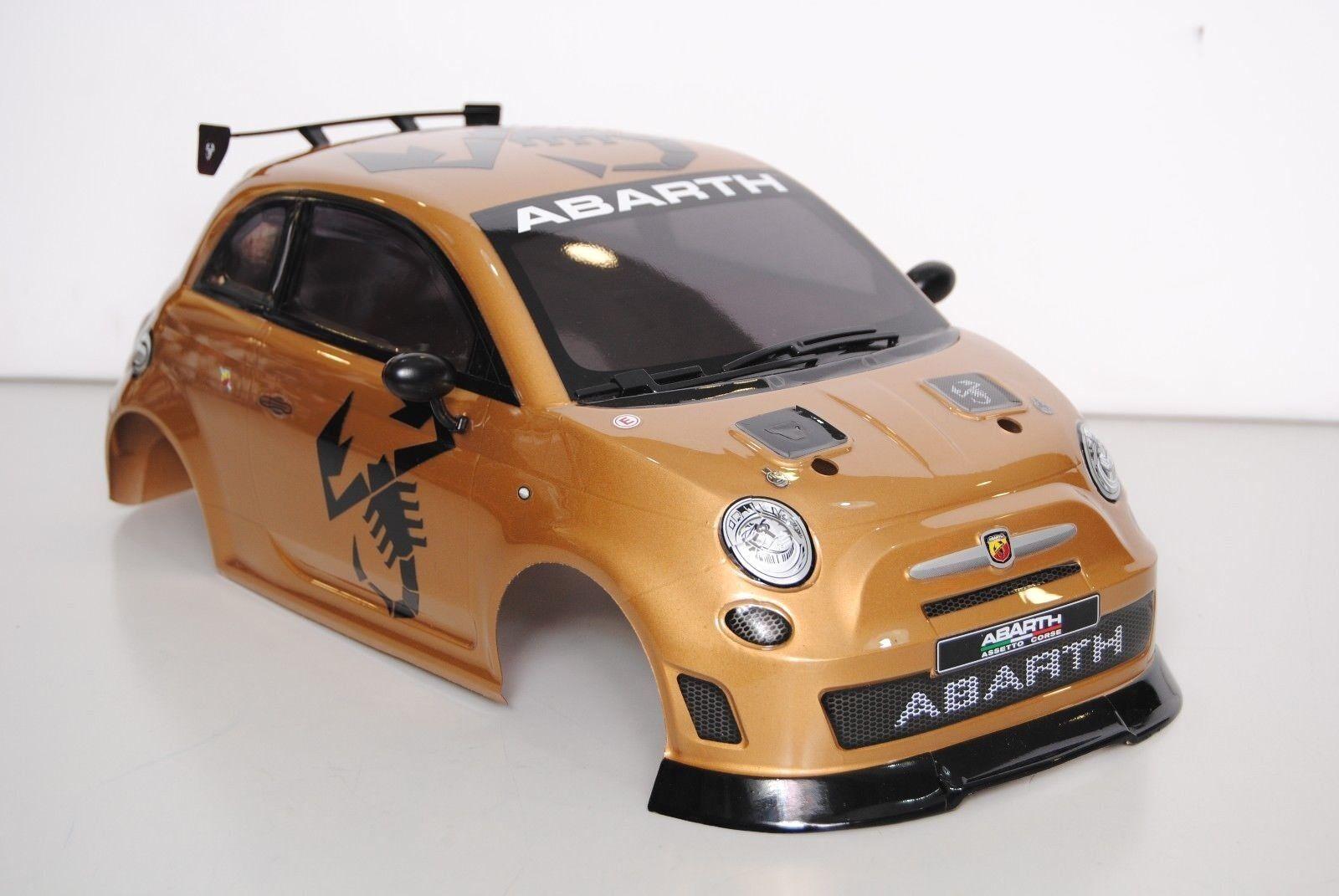THE RALLY LEGENDS EZQR10520-I Carrozzeria FIAT 500 Abarth Verniciata + Accessori