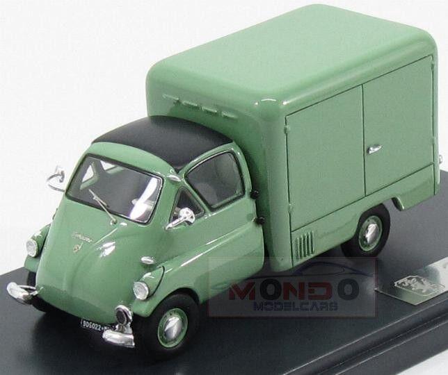Iso Isettacarro Furgone Van 1957 Green Matrix  1 43 MX30905-022 Model