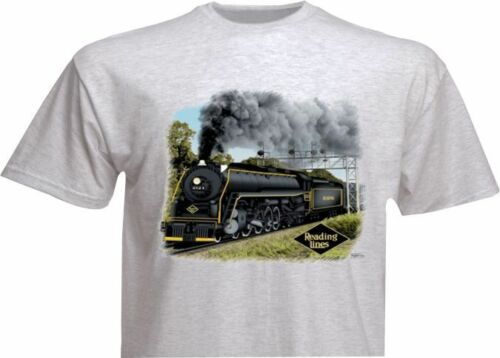 44 Reading T1 Authentic Railroad T-Shirt Tee Shirt