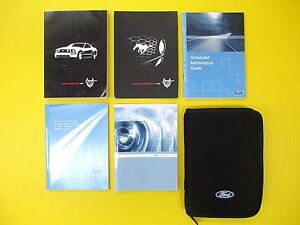 mustang   ford owners owners manual set