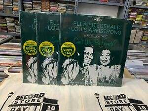 Ella Fitzgerald & Louis Armstrong LP+CD RSD 2020 Can'T We Be Friends?