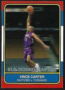 VINCE-CARTER-2000-01-Fleer-Old-School-Raptor-NNO-Toronto-Raptors