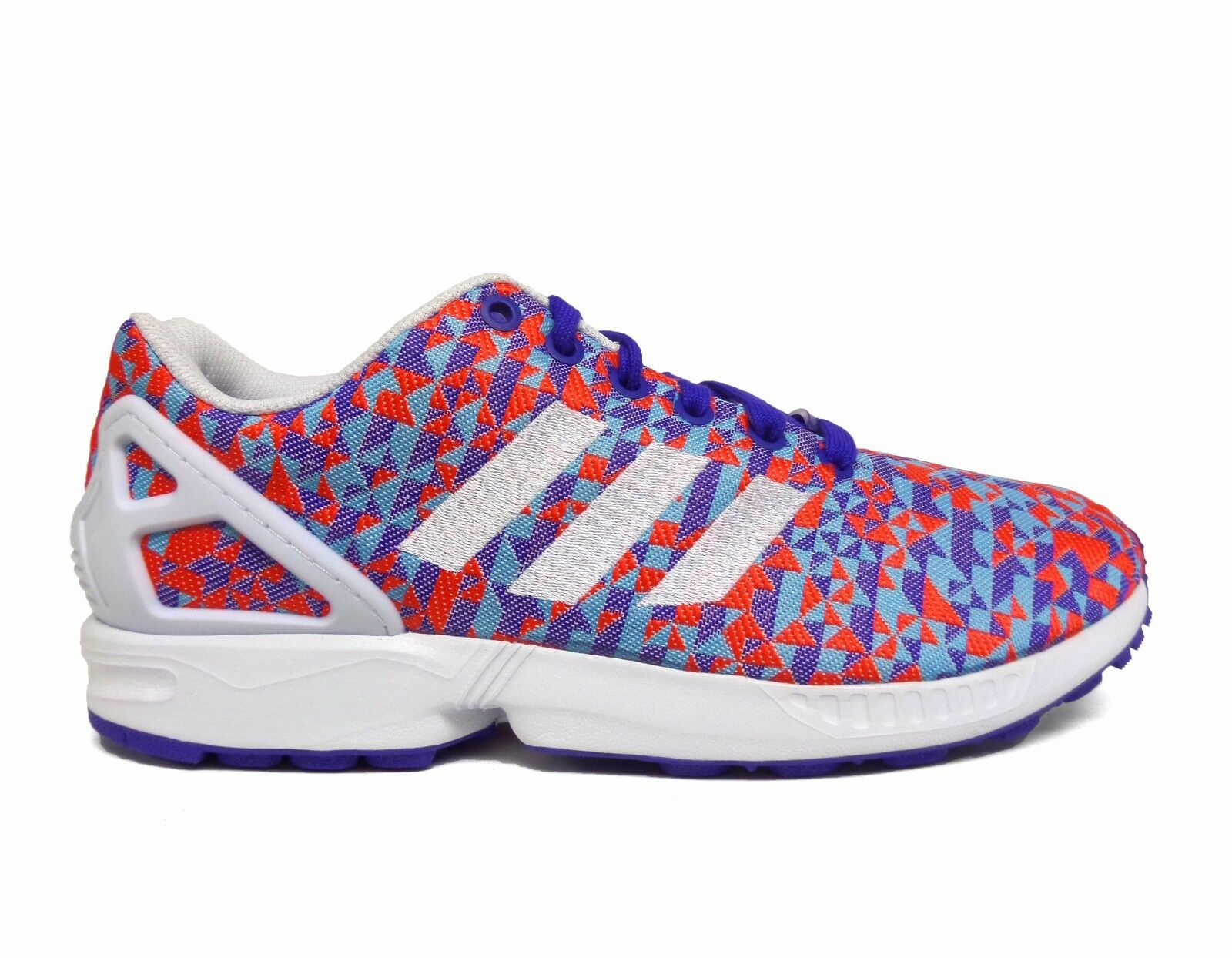 Adidas Men's ZX FLUX WEAVE Shoes Night Flash/White B34473 a1 Brand discount