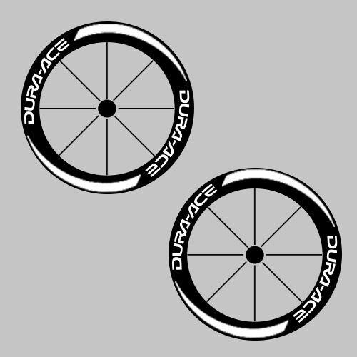 Dura Ace Deep Rim Carbon Bike//Cycling//Cycle Wheel Decal Sticker Kit 50mm